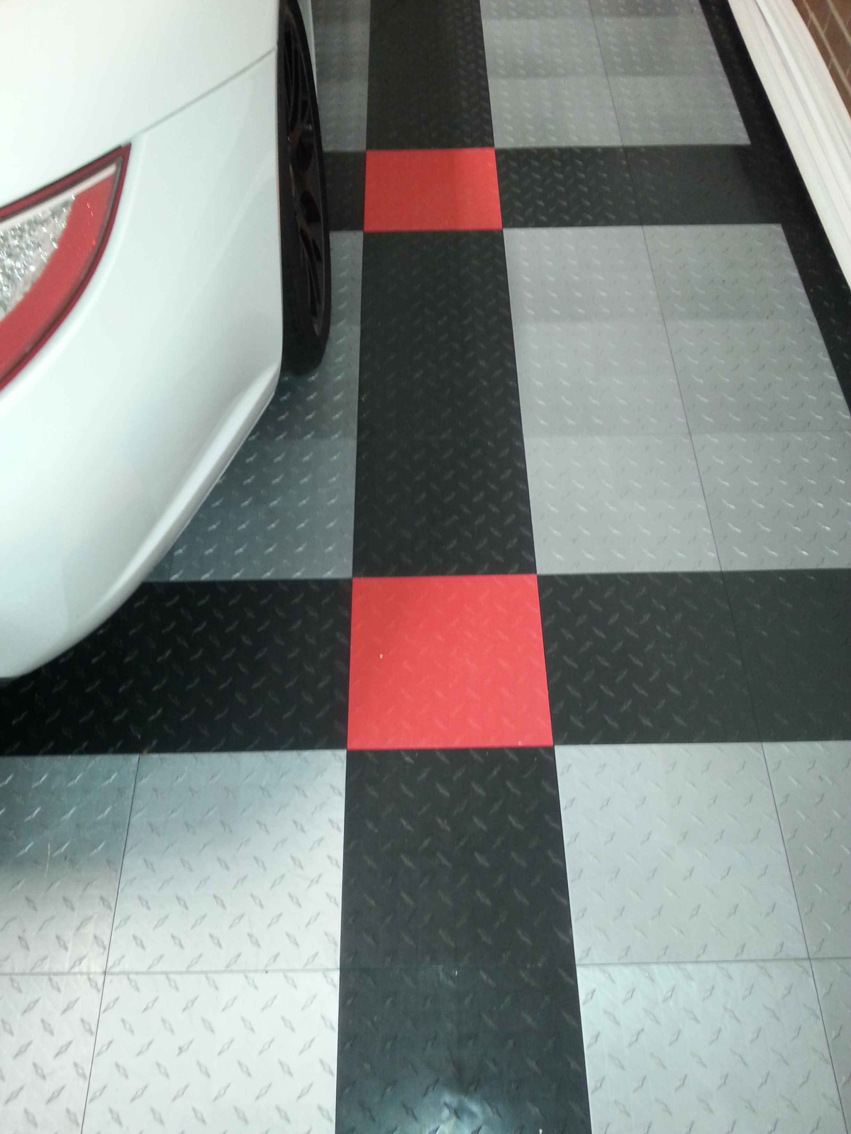 Pantries and other etsco interlocking garage floor tiles are available in many colors and unlimited patterns very cool dailygadgetfo Choice Image